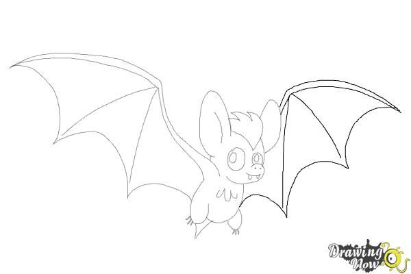 How to Draw a Bat (Ver 2) - Step 10