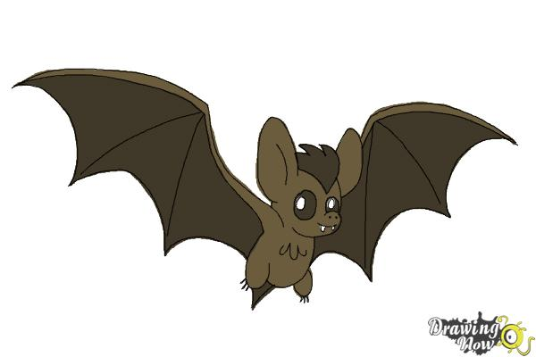 How To Draw A Bat Ver 2 Step 11