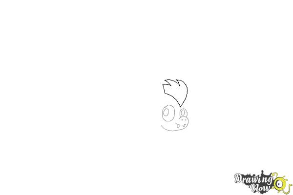 How to Draw a Bat (Ver 2) - Step 4