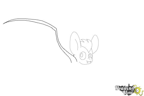 How to Draw a Bat (Ver 2) - Step 6