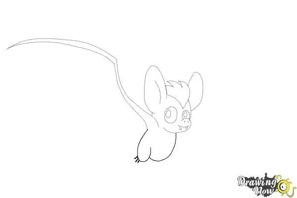 How to Draw a Bat (Ver 2) - Step 7