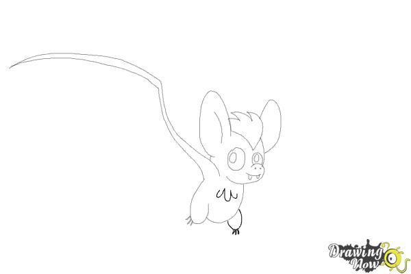 How to Draw a Bat (Ver 2) - Step 8