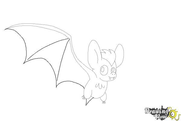 How to Draw a Bat (Ver 2) - Step 9