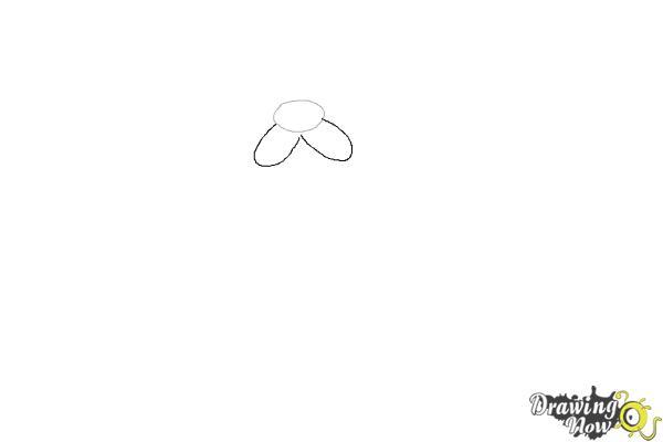 How to Draw Cute Santa Claus - Step 2