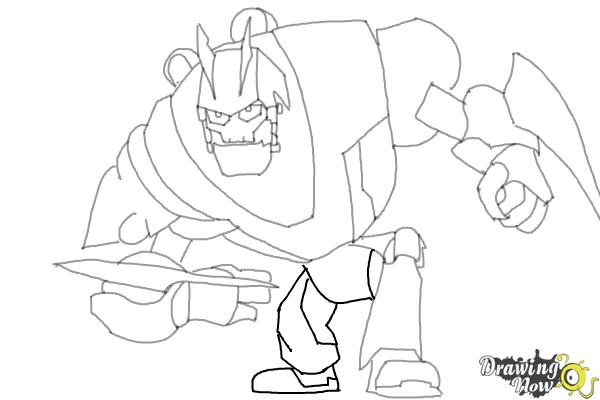 How to draw victor von ion from the movie ratchet and for Ratchet coloring pages