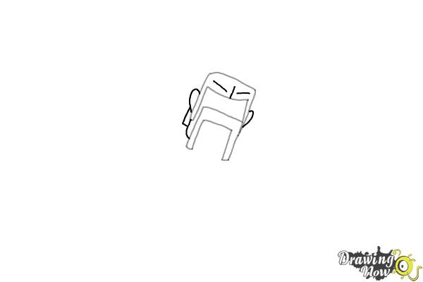How to Draw The Barbarian From Clash Of Clans - Step 3