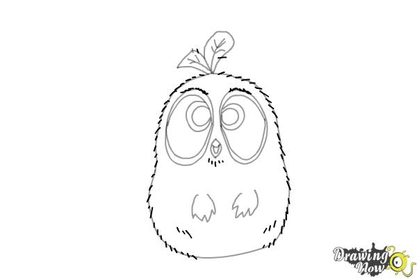 How to Draw The Blues from The Angry Birds Movie - Step 7