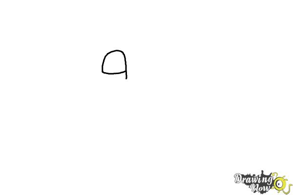 How to Draw Cyrus from the Angry Birds Movie - Step 1