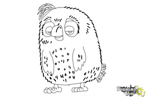 How to Draw Cyrus from the Angry Birds Movie - Step 9