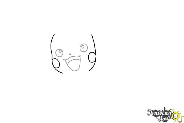 How to Draw Pikachu (Ver 2) - Step 3