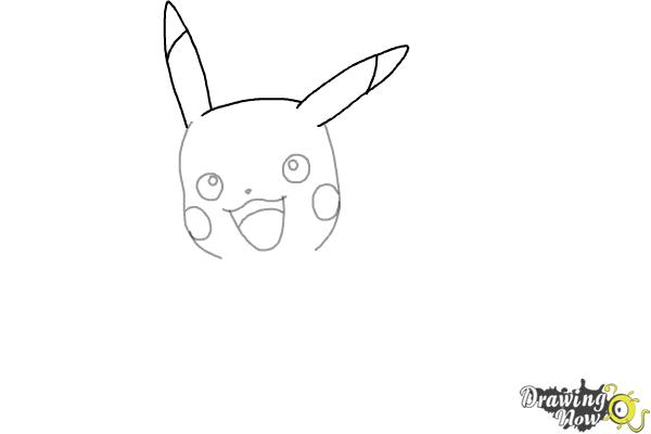How to Draw Pikachu (Ver 2) - Step 4