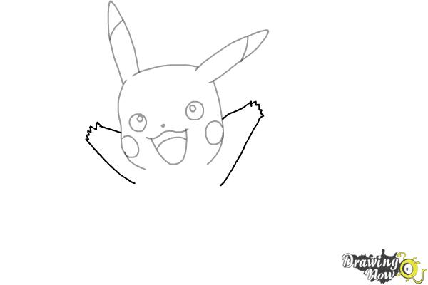 How to Draw Pikachu (Ver 2) - Step 5