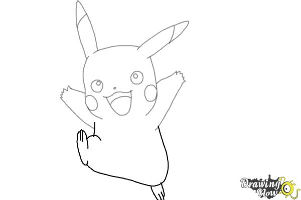How to Draw Pikachu (Ver 2) - Step 6