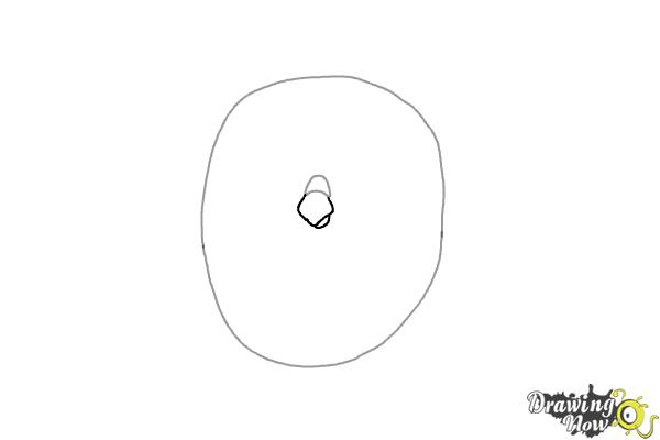 How to Draw Sweet Pea from The Secret Life Of Pets - Step 2