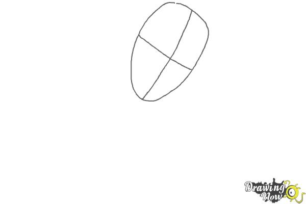 How to Draw Deadpool - Step 1