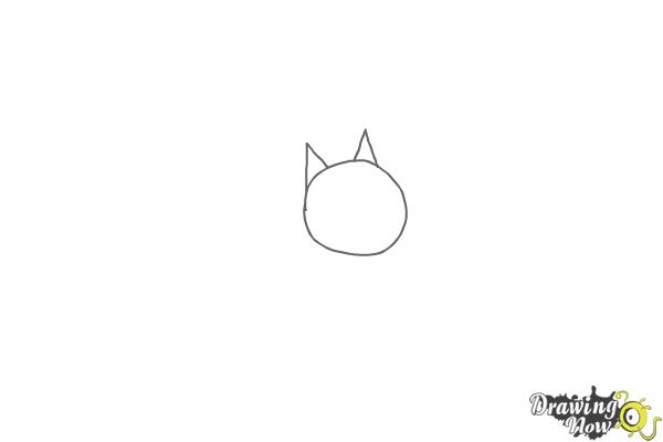 How to Draw Cloe from The Secret Life of Pets - Step 1
