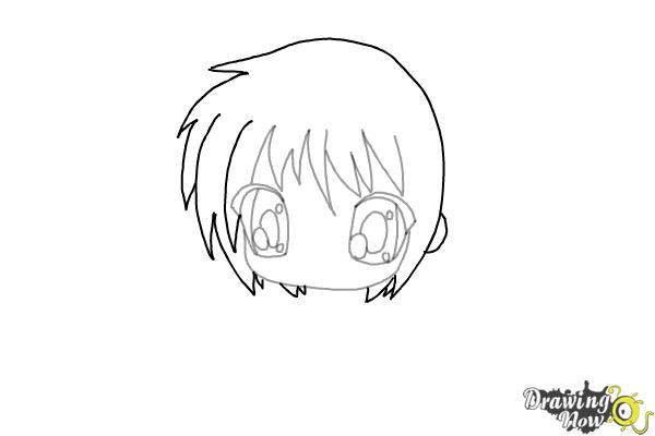 How to Draw Chibi (Ver 2) - Step 4