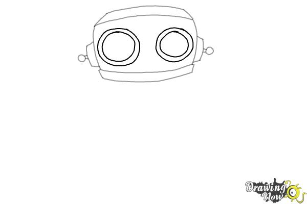 How to Draw a Robot (Ver 2) - Step 4