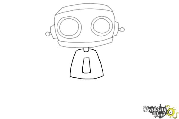 How to Draw a Robot (Ver 2) - Step 5