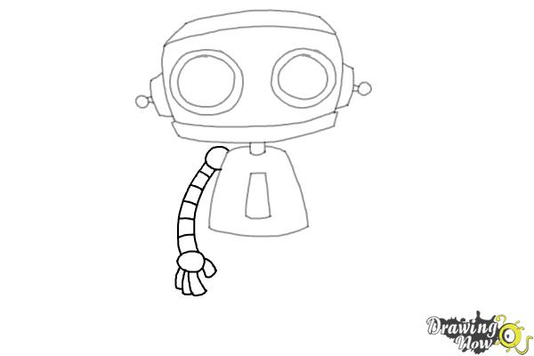 How to Draw a Robot (Ver 2) - Step 6