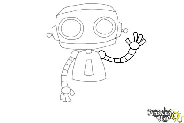 How to Draw a Robot (Ver 2) - Step 7