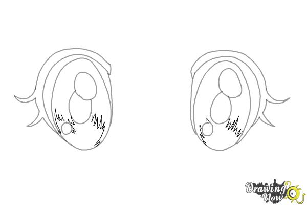 How to Draw Chibi Eyes (Ver 2) - Step 5