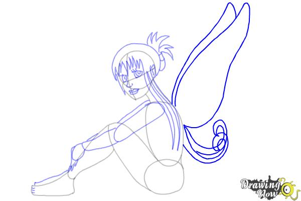 How to Draw a Fairy (Ver 2) - Step 7