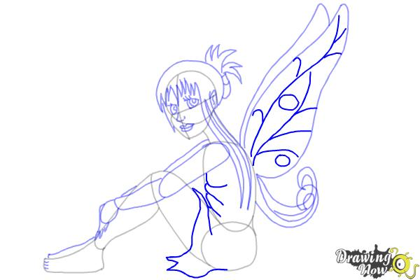 How to Draw a Fairy (Ver 2) - Step 8