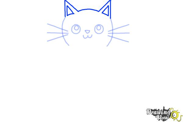 How to Draw a Kitten (Super Easy) - Step 5