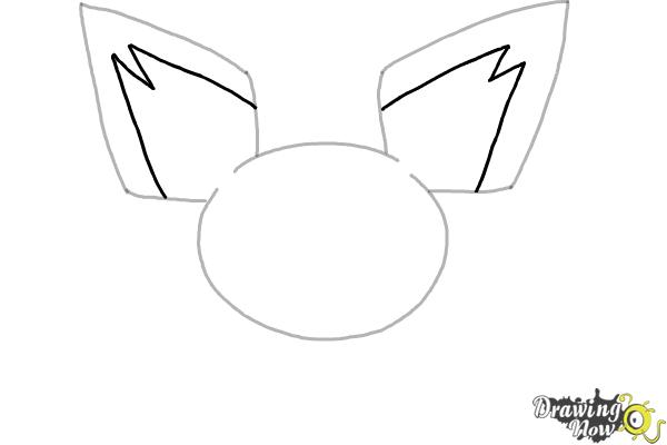 How to Draw Pokemon - Pichu - Step 3