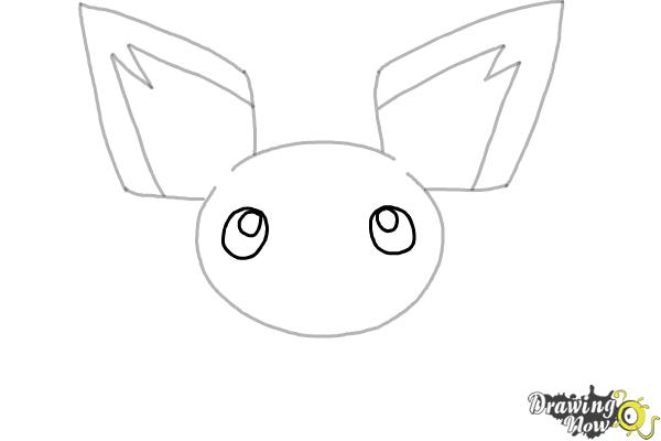 How to Draw Pokemon - Pichu - Step 4