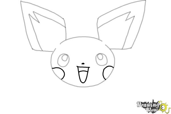 How to Draw Pokemon - Pichu - Step 5
