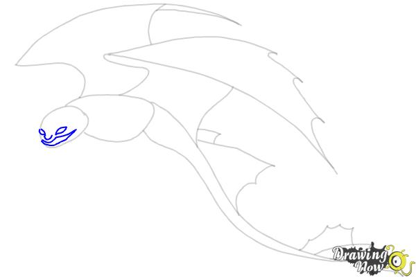 How to Draw a Dragon Step by Step - Step 5