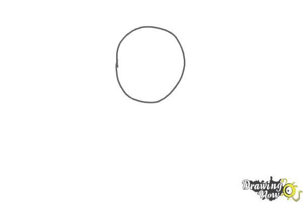 How to Draw Pokemon - Dratini - Step 1