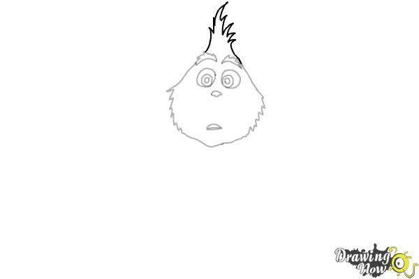 How to Draw The Grinch - Step 5