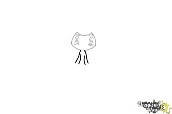 How to Draw Tapu Lele Pokemon - Step 3