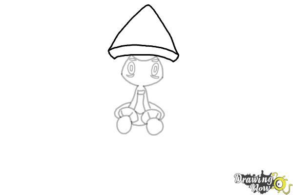 How to Draw Tapu Lele Pokemon - Step 6