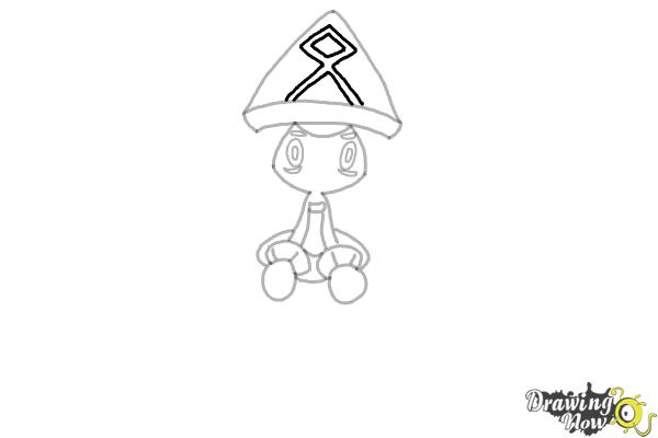 How to Draw Tapu Lele Pokemon - Step 7