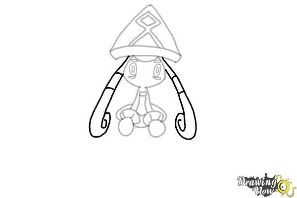 How to Draw Tapu Lele Pokemon - Step 8