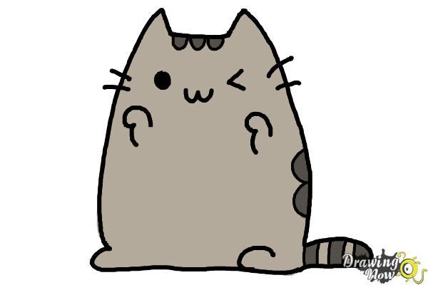 How to Draw Kawaii Cat - Step 10