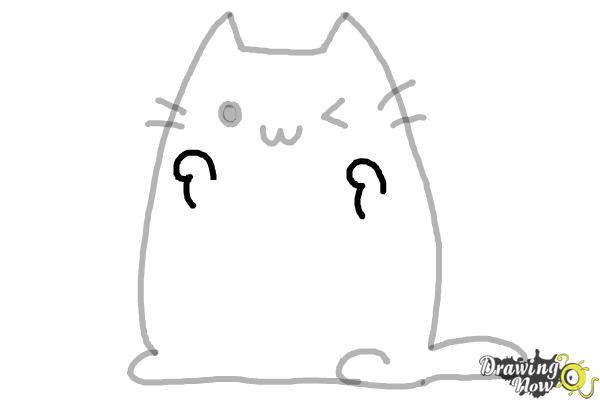 How To Draw Kawaii Cat