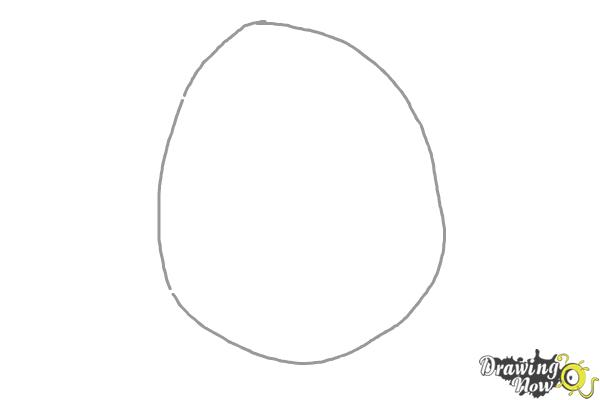 How to Draw Pokemon - Blissey - Step 1