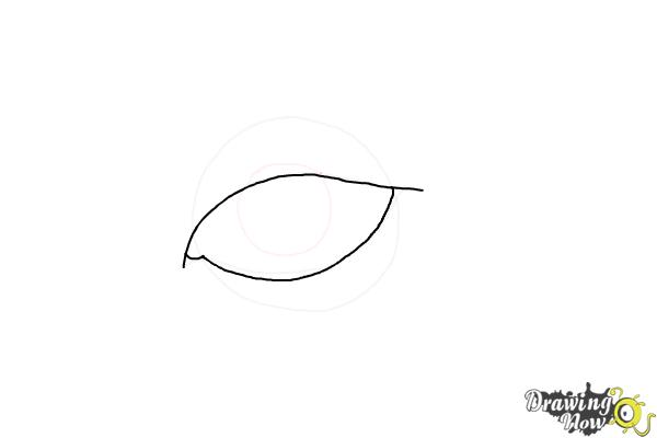 How to Draw an Eyeliner - Step 4