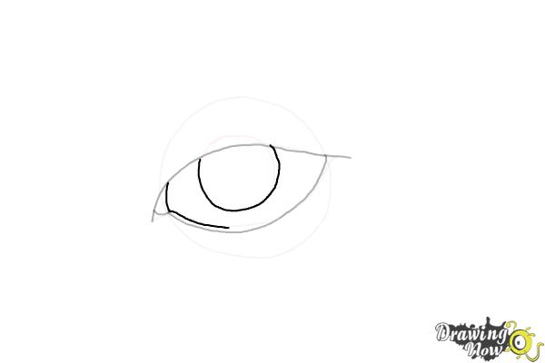 How to Draw an Eyeliner - Step 5