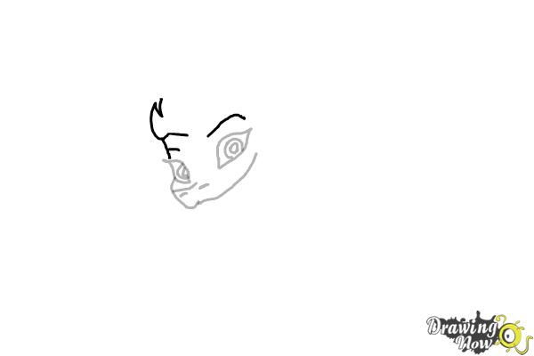 How to Draw Sisu - Raya and the Last Dragon - Step 4