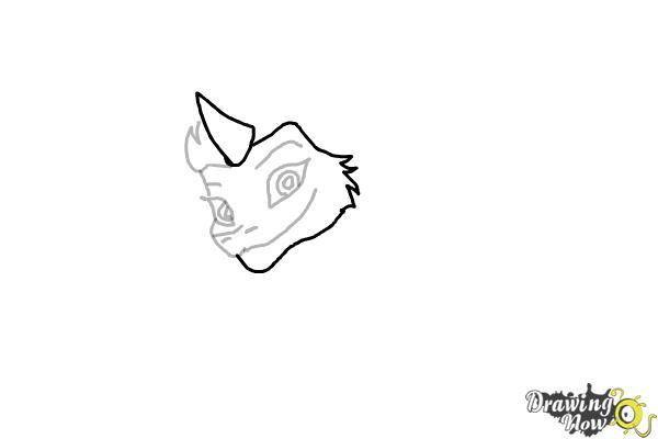 How to Draw Sisu - Raya and the Last Dragon - Step 5