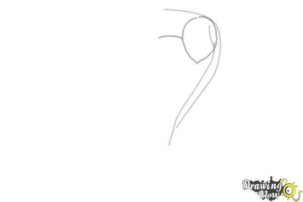 How to Draw Anime Characters - Step 2
