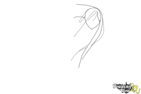 How to Draw Anime Characters - Step 3