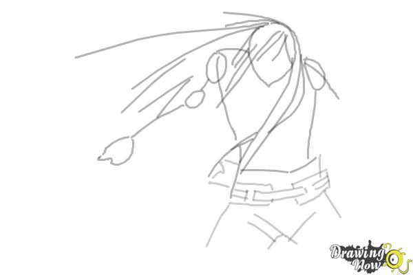 How to Draw Anime Characters - Step 6