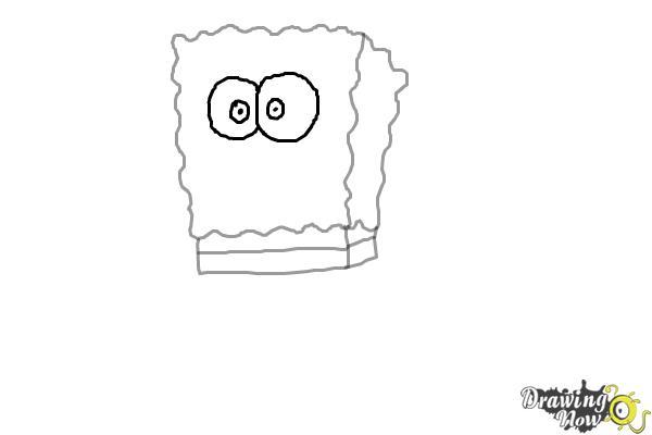 how to draw spongebob drawingnow